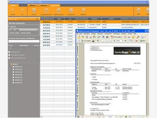 Abrechnungssoftware für Support-Leistungen.