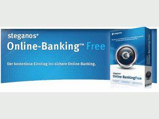 Mit Steganos Online-Banking Free können jetzt auch Anwender, die Geld für eine