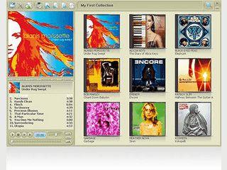 Player und Verwaltung für MP3 und WMA Dateien. Mit Cover und Lyrics.