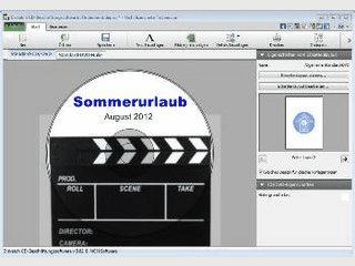 Programm zum Erstellen von CD/DVD-Cover, Inletts und Labels.