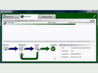 Ermöglicht die Erstellung, Erweiterung und den Test von MS-Installer Paketen.