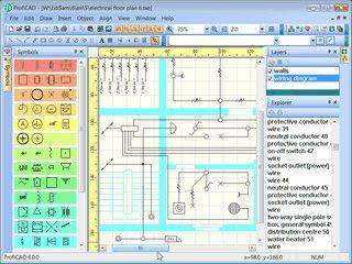 Software für die Erstellung von Schaltplänen der Elektrotechnik.