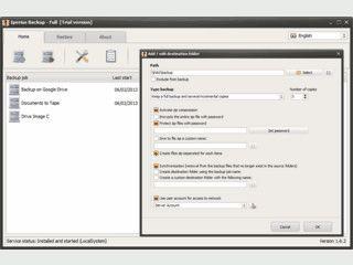 Kostenlose Software + Drive-Image, DAT-LTO, NAS - Cloud Backup, synchronization