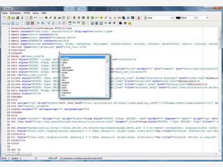 Einfacher HTML/XHTML-Editor mit Syntax-Hervorhebung.