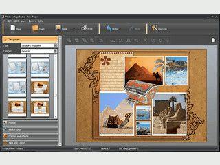 Umfangreiche Software für die Verbesserung und kreative Bildaufbereitung.