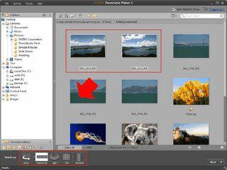 Software zum Erstellen von 3D Panoramen aus Ihren Einzelbildern.