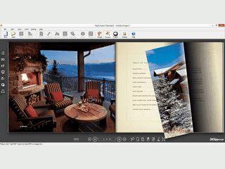 Software zur Erstellung von E-Publikationen mit Daumenkinoeffekt.