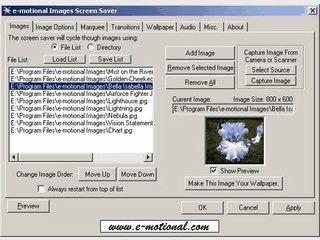 Screensaver aus Ihren eigenen Bildern mit Passwortschutz durch Novell, MS Netzwe