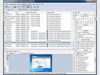 PC Überwachungssoftware zum unsichtbaren aufzeichnen von Benutzeraktivitäten.