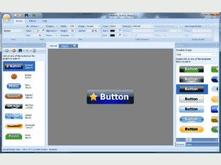 Schaltflächen für Webseiten und Multimedia-Apps gestalten.