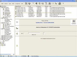 ISDN-Anrufbeantworter mit SMS-Weiterleitung, Fax und Monitor