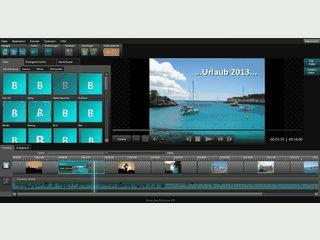 Diashows mit Musik, Text und Effekten in Full-HD-Qualität erstellen.