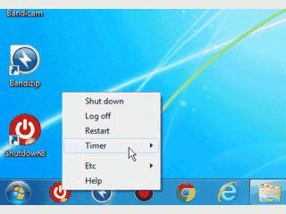 Einfaches Tool zum Abschalten des Computers.