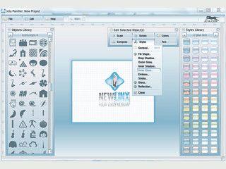Software zur Erstellung von Logos mit Hilfe von Vorlagen