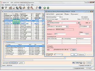 Banking-Anwendung zur SEPA- und DTAUS-Dateierstellung.