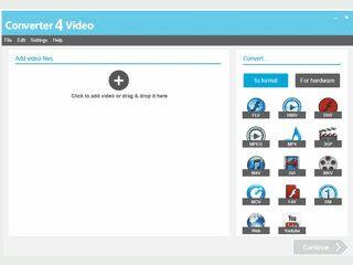 Schnelle Video-Konvertierung durch Auswahl passender Hardware-Profile.