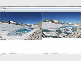 Software für die Erstellung von Bildvergleichen/Fotovergleichen