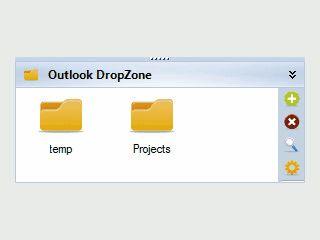 Dateianhänge in MS Outlook einfach per Drag'n Drop speichern.