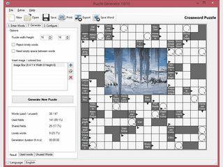 Eigene Kreuzworträtsel oder Wortsuchrätsel erstellen und ausdrucken.
