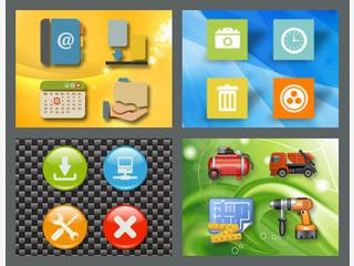 XAML Icon Tool  mit Icon Sets. Erstellen Sie Windows 8 Icons, Buttons und mehr.
