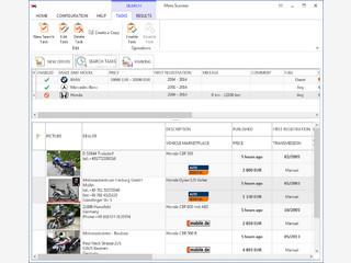 Software zur Überwachung und Tracking-Automotive-Anzeigen