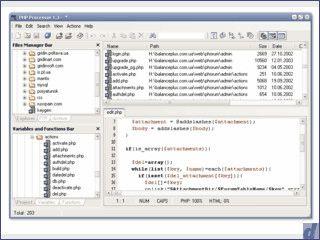 Tool zur Analyse, Optimierung und Verschlüsselung von PHP Dateien