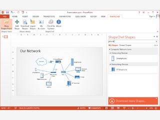 ShapeChef ermöglicht die Verwaltung von Grafiken und Charts in PowerPoint.