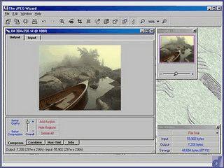 Recht gutes Tool zur Bearbeitung von JPEG Bildern.