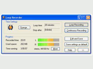 Songs aus dem Radio aufnehmen und als ASF, MP3, OGG oder WAV speichern.