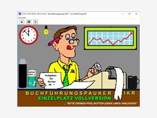 Lern- und Trainingsprogramm für schulmäßige Industriebuchführung