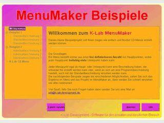 Erstellt automatisch startende CD-Oberflächen in fünf Sprachen