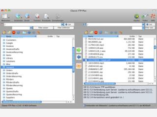 Classic FTP ist ein bedienerfreundliches FTP-Clientprogramm für Mac OS X