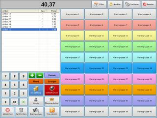 professionelle Kassensoftware für die Einzelhandels und Handelsbetriebe.