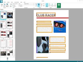 OCR-Software mit umfangreichen Bearbeitungsfunktionen für PDF-Dateien.