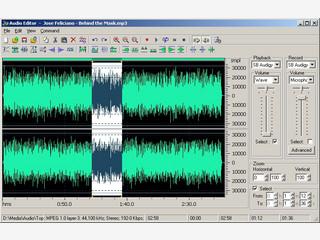 MP3 Player mit dem Sie verschiedene Playlists anlegen können.