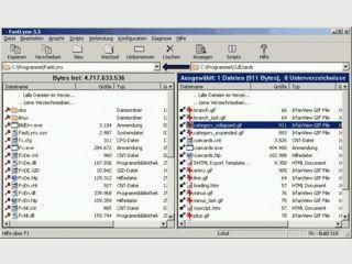 Übertragung von Dateien zwischen DOS, Linux und Windows per Kabel, Netzwerk
