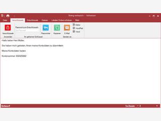 Verschlüsseln Sie Ihre Texte & Dateien mit 256-Bit AES.
