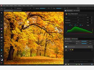 Bildbearbeitung für Vektorgrafiken und Bilddateien