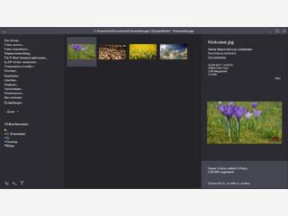Fotoverwaltung mit vielen praktischen Funktionen, Fotobearbeitung