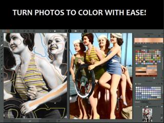 Schwarz-Weiß-Bilder colorieren.