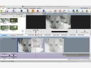 Mit der VideoPad Masters Edition auf Mac OS X Film und Video schneiden.