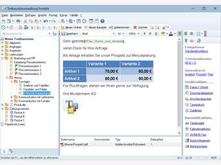 Portable Textbausteinverwaltung die systemweit ohne Installation einsetzbar ist