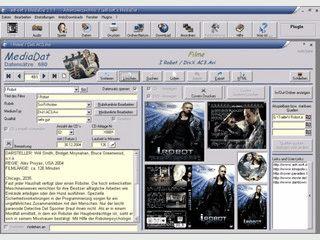 Software zur Verwaltung von allen CDs und DVDs