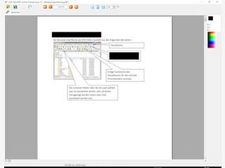 Teile mit vertraulichen Informationen in PDF Dateien unkenntlich machen.