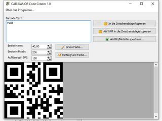 Erzeugen Sie schnell und einfach QR Codes selber.