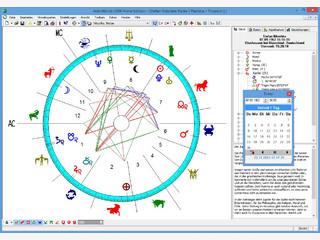 Umfangreiche Astrologie Software