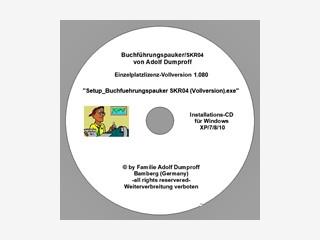 Lernprogramm schulmäßige Buchführung nach SKR04-Kontenrahmen