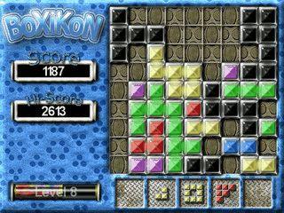 Eine Mischung aus Tetris und Puzzle.