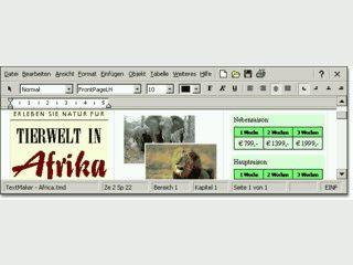 Unterwegs texten und gestalten mit dem Komfort einer Desktop-Textverarbeitung