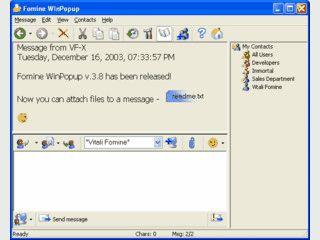 Instant-Messenger für lokale Netzwerke.